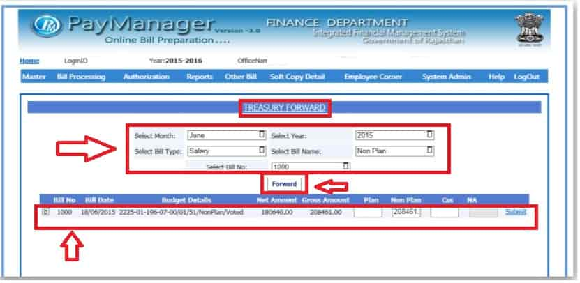 Paymanager-Bill-Forward-to-Trasary