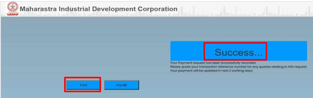 Online-MIDC-Water-Bill-Payment